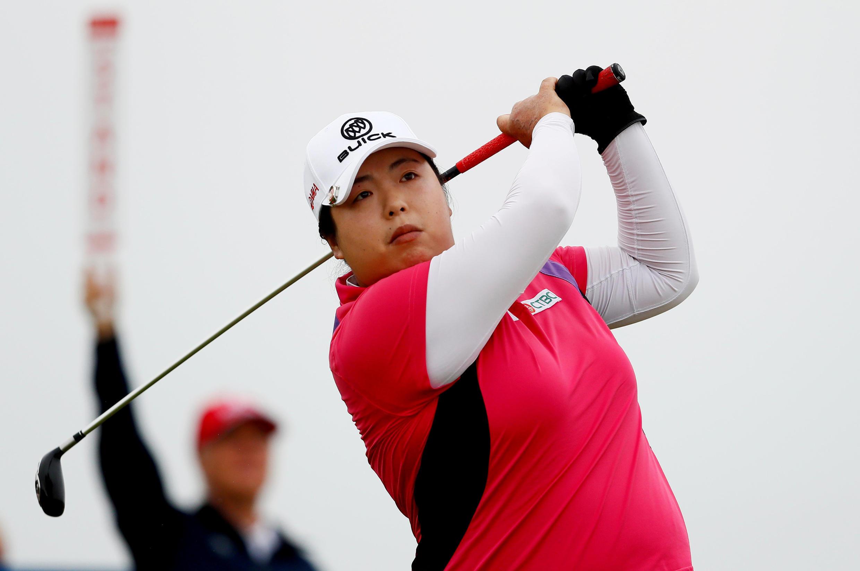 Shanshan Feng, golf nữ Trung Quốc, đứng hạng 9 thế giới. Ảnh chụp ngày 2/08/2018.