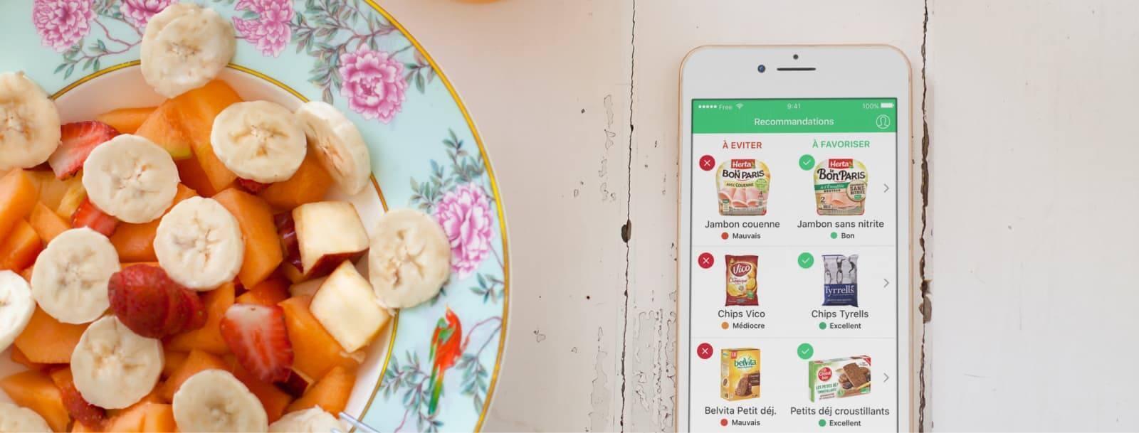 O aplicativo Yuka conquistou 5 milhões de usuários em menos de dois anos.
