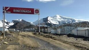 La Rinconada, una ciudad reciente en la que viven 50 mil personas.