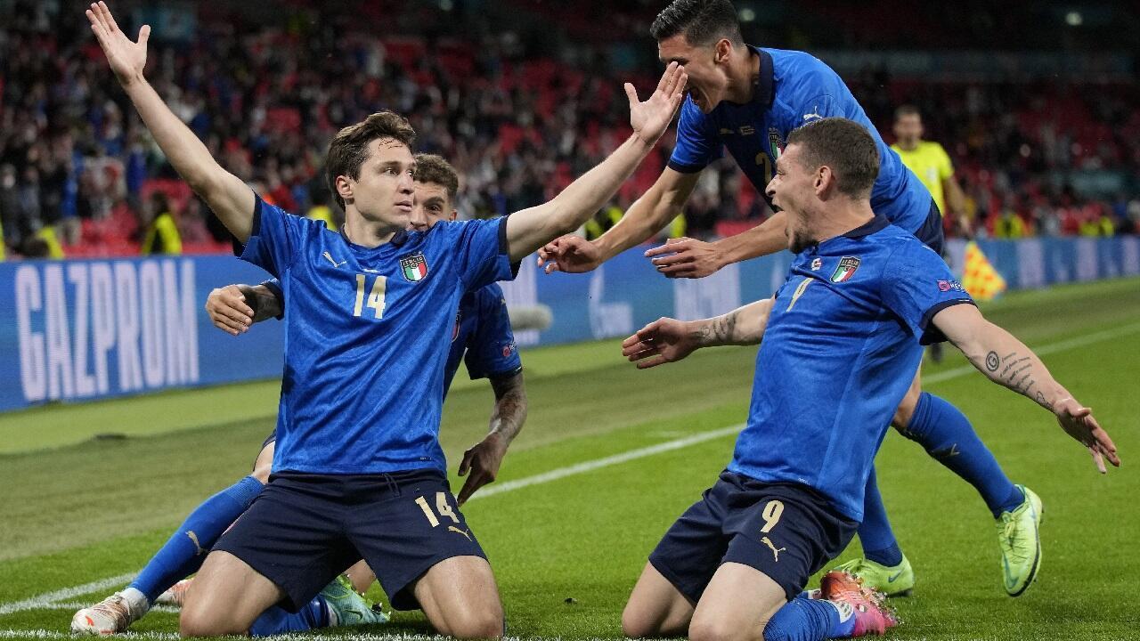 PHOTO Chiesa vs Autriche - 26 juin 2021
