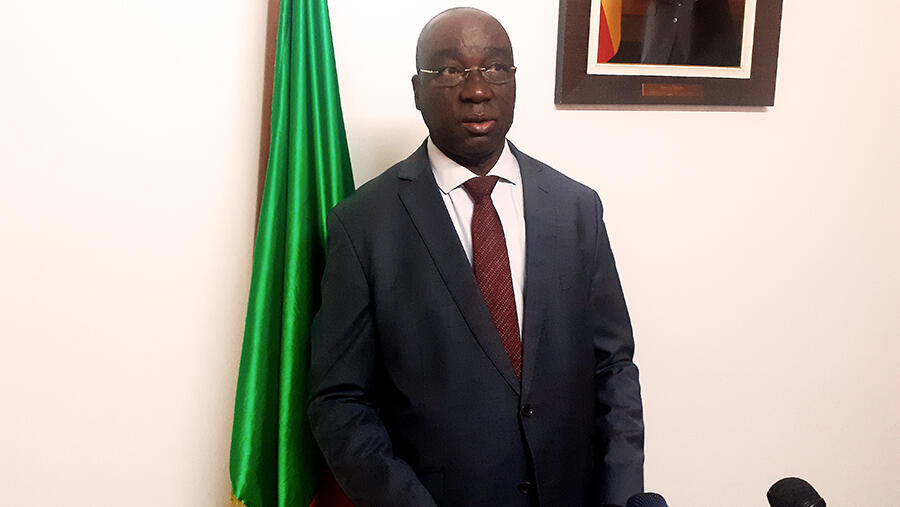 PHOTO Sacca Lafia Ministre de l'Intérieur du Bénin