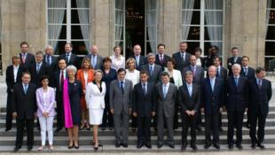 Кабинет министров Н. Саркози май 2007 г.