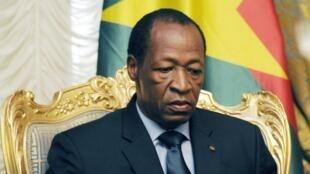 Blaise Compaoré, ancien président du Burkina Faso.