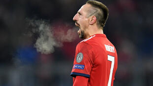 Franck Ribery scored his third goal in as many days as Bayern Munich rose to second in the Bundesliga.