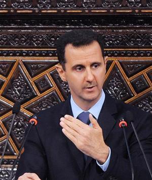 Shugaban Syria Bashar al Assad