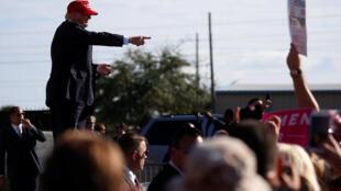 Donald Trump le 2 novembre 2016 à Orlando en Floride.