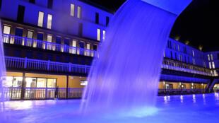 (Photo d'illustration) La piscine Molitor à Paris, au moment de sa réouverture en mai 2014.