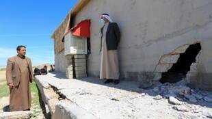 حملۀ موشکی در شمال عراق به روستاهای منطقۀ بعشیقه  نیز آسیب زد