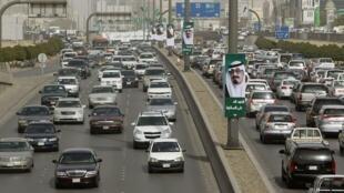 L'objectif du projet: décongestionner la circulation de la capitale de l'Arabie saoudite.