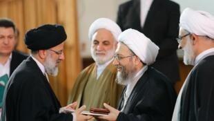 Raïssi Larijani 20 esfande 97