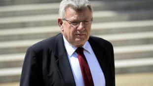 French Budget Minister Christian Eckert