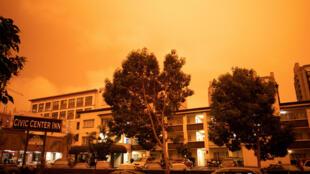 Небо над Сан-Франциско, 9 сентября 2020 г.
