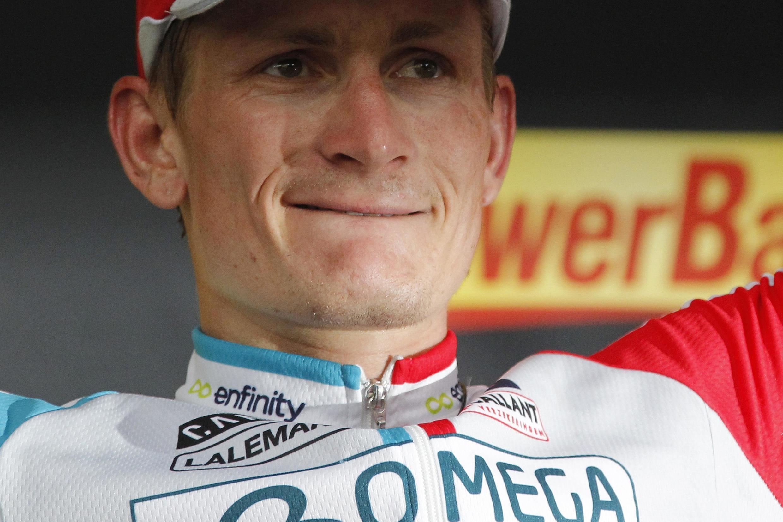 Победитель 10 этапа Андре Грейпель
