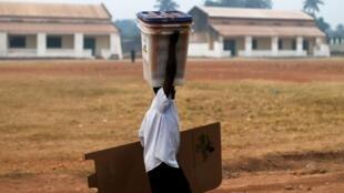 La date du second tour des législatives centrafricaines n'a pas encore été fixée.