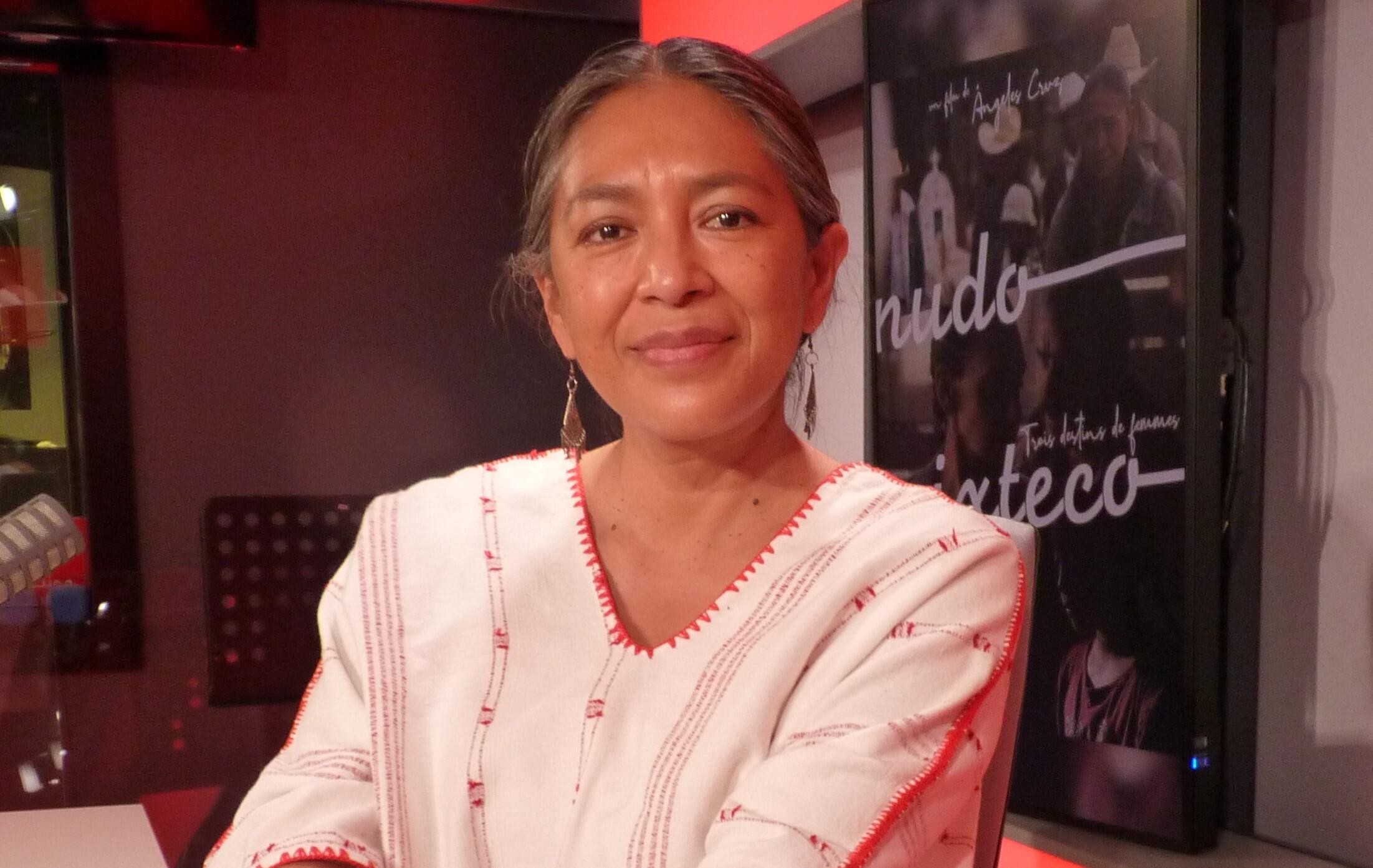 La actriz y realizadora mexicana Ángeles Cruz en RFI