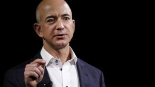 Jeff Bezos, CEO of web giant Amazon, commands a personal fortune of 112 billion euros, making him the world's wealthiest person in 2018, according to Oxfam.