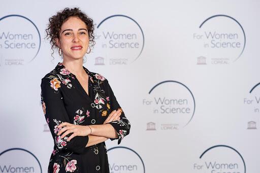 La galardonada Cristina Romera Castillo