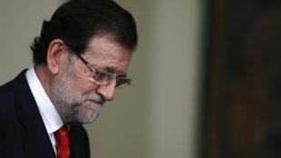 El primer ministro español Mariano Rajoy en Madrid el 11 de julio de 2013.