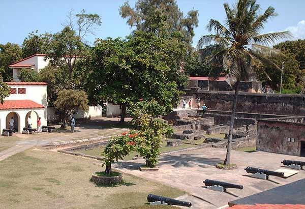 Fort-Jesus, moja ya makavazi jijini Mombasa.