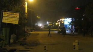 The Bamako street where La Terrasse restaurant was attacked