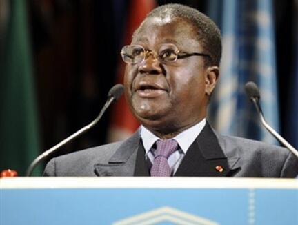 L'ancien président ivoirien Henri Konan Bédié, en juillet 2009 à Paris.