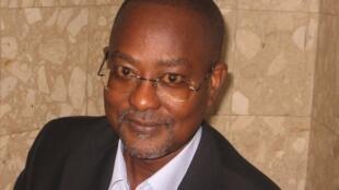 Victor Pereira, porta-voz do PRS, na Guiné-Bissau.