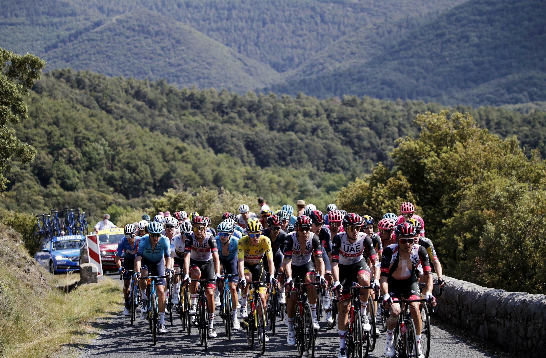 Четырнадцатый этап «Тур де Франс» Каркасон – Кийан 10 июля 2021.