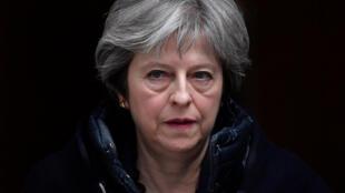 La Première ministre britannique Theresa May, le 14 mars 2018, à Londres.