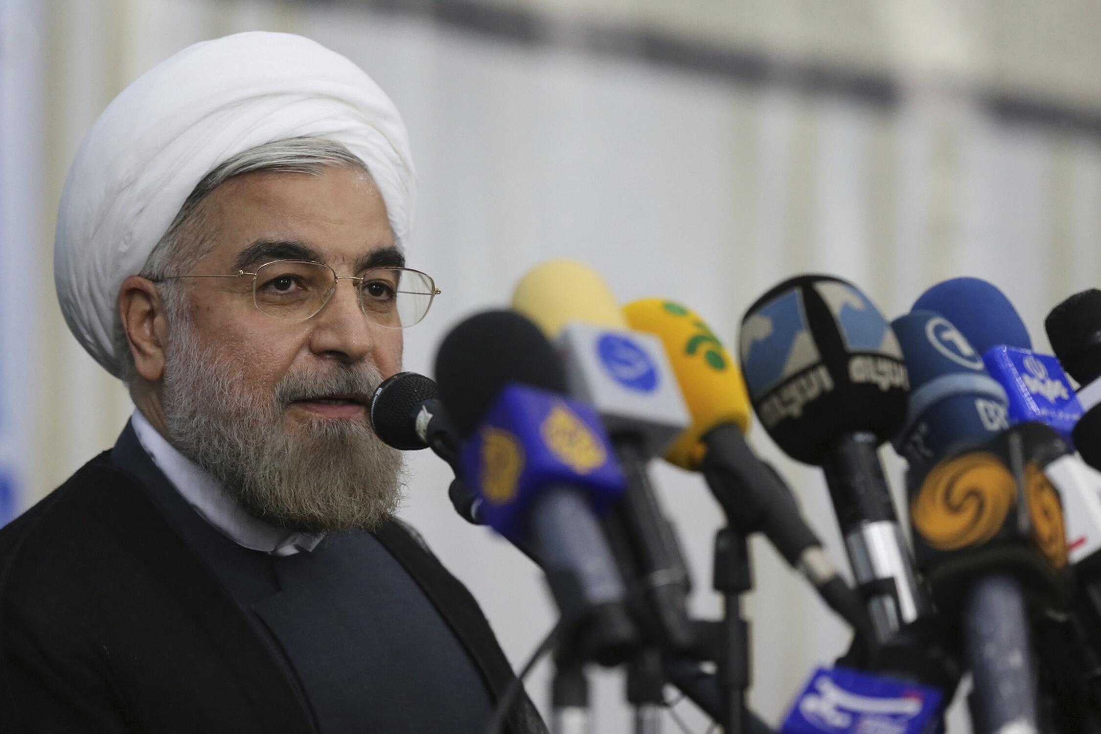Хасан Рухани в Тегеране, 16.06.2013