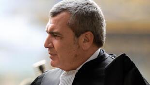 Thierry Herzog, former president Nicolas Sarkozy's lawyer