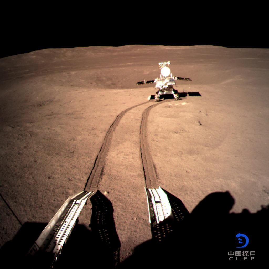 Với việc đưa rô-bốt Thỏ Ngọc 2 lên phần khuất của Mặt Trăng, Trung Quốc muốn khẳng định vị thế siêu cường công nghệ không gian. Ảnh chụp ngày 04/01/2019.