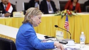 Ngoại trưởng Hillary Clinton tại Hội nghị ASEAN-Mỹ, Hà Nội, 22/07/2010