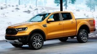 Les pick-up sont à l'honneur au salon international de l'automobile à Detroit.