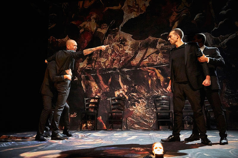 Hamlet -Centre Pénitentiaire Avignon-Le Pontet.