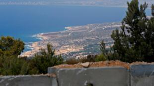 La frontière libano-israélienne, le 5 septembre 2018.