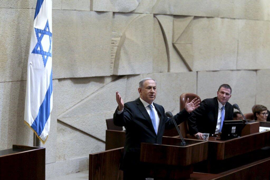O premiê Benyamin Netanyahu tomou posse à frente do novo governo de coalizão nesta quinta-feira (14), em Israel.