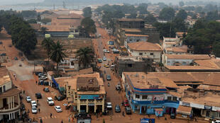 Vue sur la capitale de la Centrafrique, Bangui (Image d'illustration).