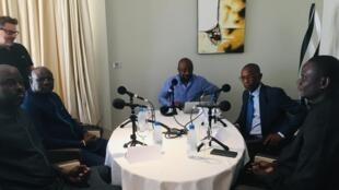 Les invités du Débat africain enregistré à Dakar le 5 mars 2019.