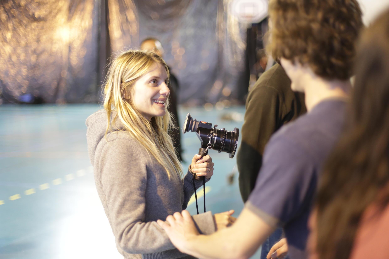 Mélanie Laurent, la réalisatrice du film <i>Respire.</i>