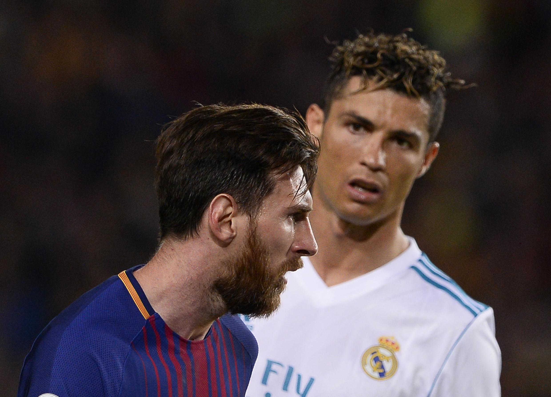 Le Barcelonais Lionel Mesi et le Turinois Cristiano Ronaldo, en mai 2018.