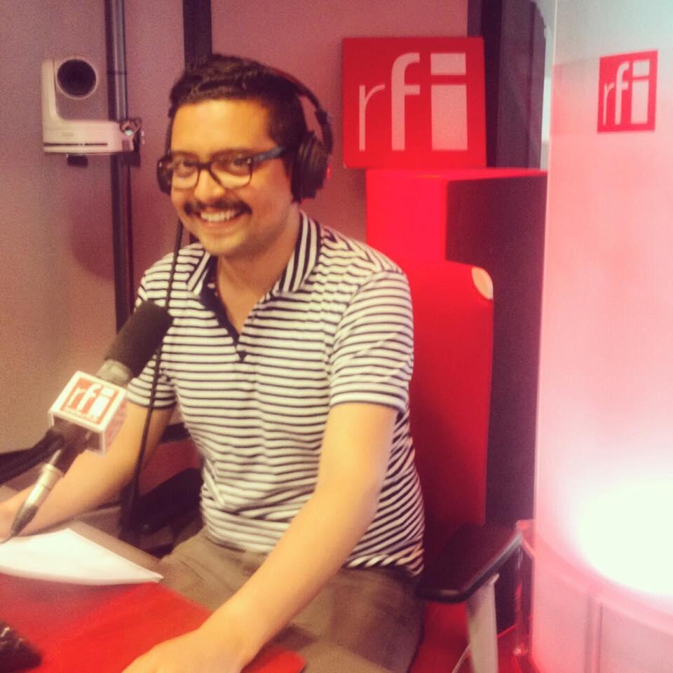 Juan Camilo Chaves Rodríguez, ganador del primer premio de Reportaje RFI.