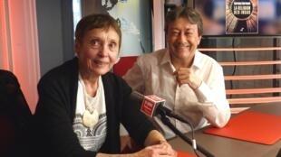 La antropóloga francesa Carmen Bernand con Jordi Batallé en RFI