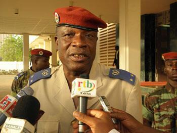 Le général Kouamé Lougué