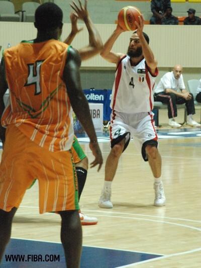 Contrairement à 2009, la Côte d'Ivoire a perdu face à l'Egypte durant l'Afrobasket 2011.