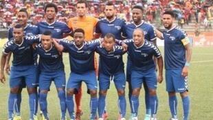 Recreativo do Libolo, campeão angolano de futebol 2014 numa imagem do mural Facebook deste clube angolano.