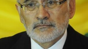 El ex presidente boliviano Carlos Mesa y candidato para las elecciones presidenciales.