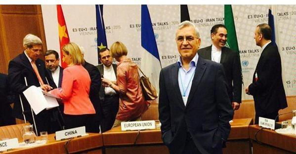 .عکس آرشیو - عبدالرسول دریاصفهانی، یکی از اعضای تیم ایران در مذاکرات هستهای