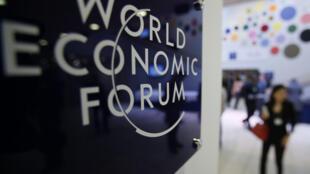 Forum économique mondial de Davos, le 24 janvier 2013.