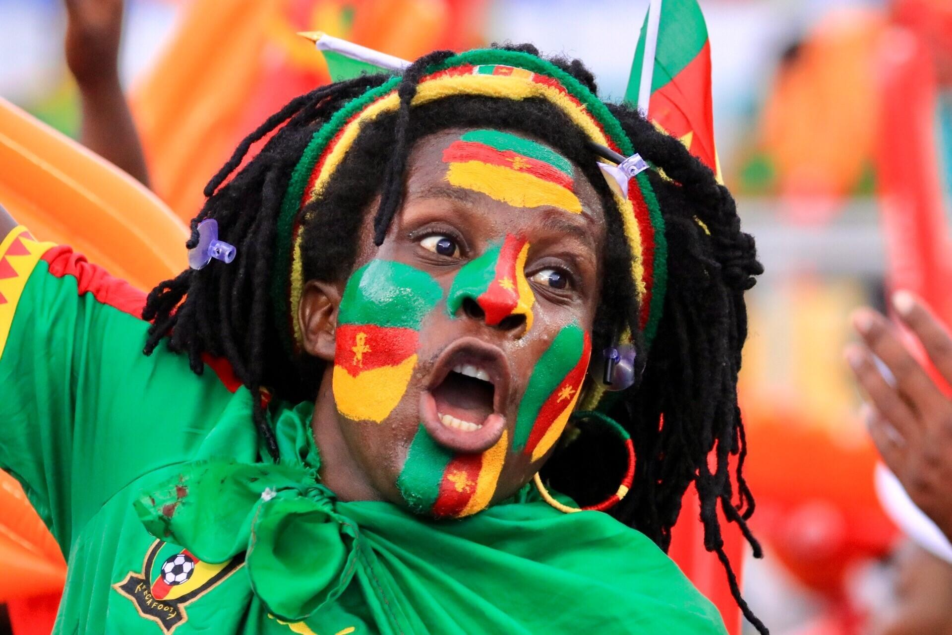 Cameroon fans were singing songs of triumph at the end of the Africa Cup of Nations.
