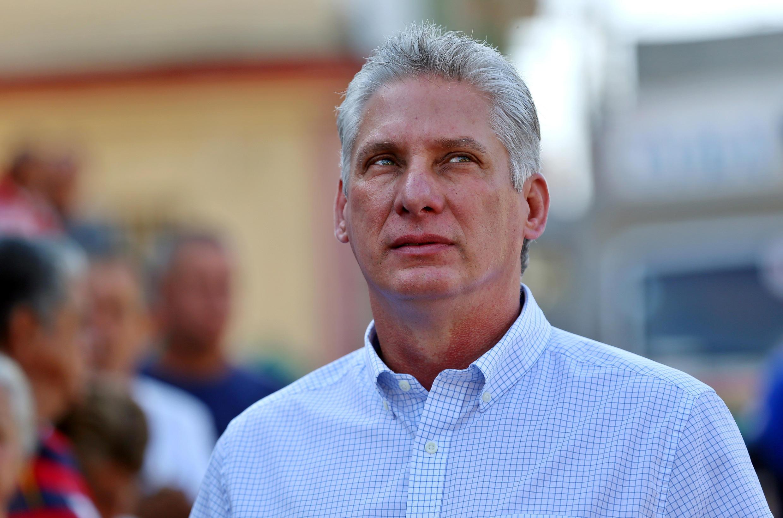 Ông Miguel Diaz-Canel, người sắp được bầu làm chủ tịch Cuba, tại Santa Clara, ngày 11/03/2018.